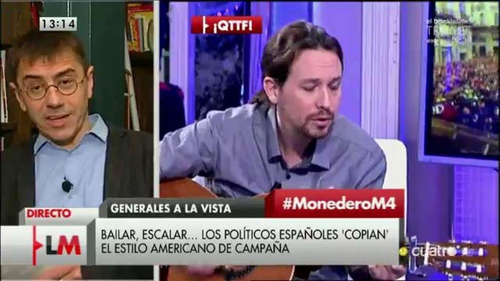 """Juan Carlos Monedero: """"La hegemonía se construye en los platós de televisión"""""""