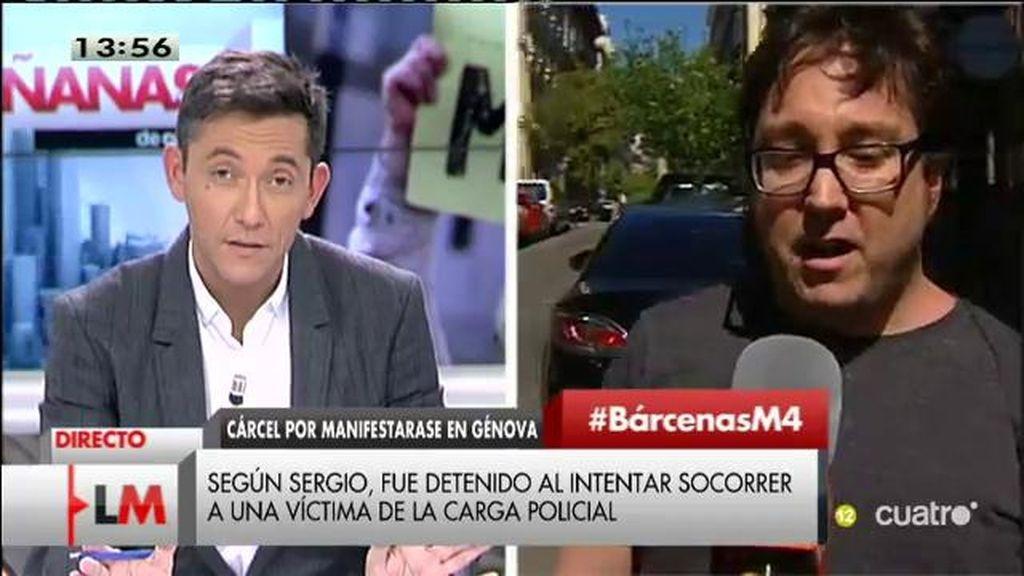 ¿Cárcel por manifestarse en Génova?