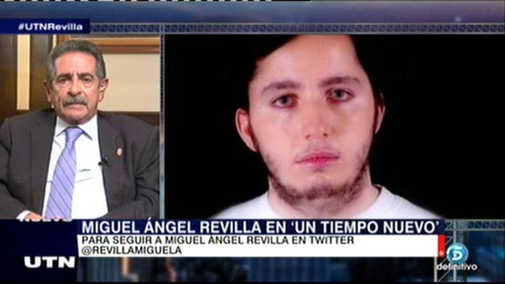 """Revilla, sobre Francisco Nicolás: """"Es un poco peliculero pero hay un fondo de realidad"""""""