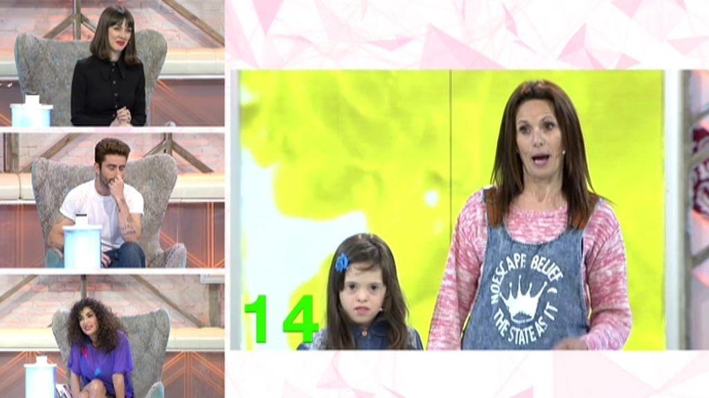 """Toñi: """"Mi hija Elvira no se expresa bien, pero le hace mucha ilusión estar aquí"""""""
