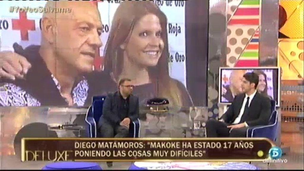 """Diego Matamoros: """"Cuando mi padre vio que le había robado, me cogió del cuello"""""""