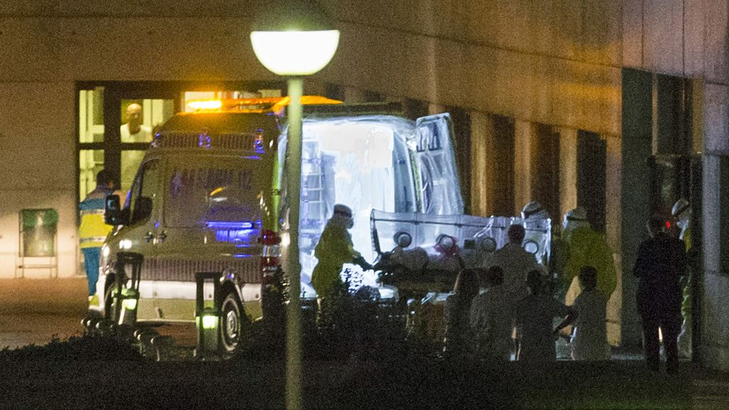Cuatro personas permanecen ingresadas en observación por riesgo de padecer ébola