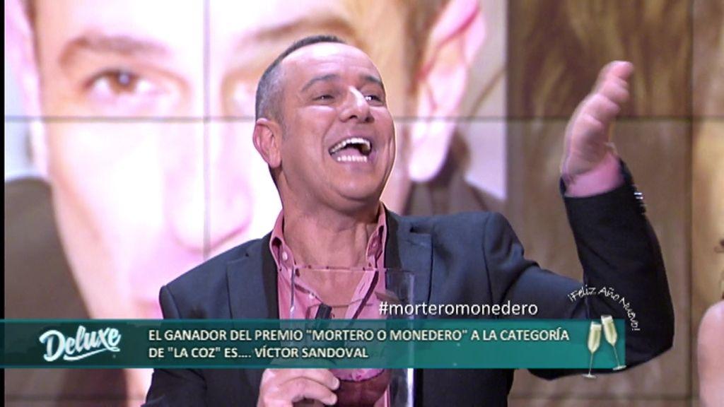 """Premios Mortero o Monedero: Víctor Sandoval gana en la categoría """"La Coz"""""""