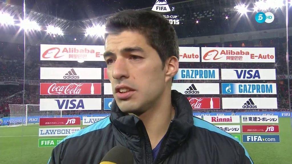 """Luis Suárez: """"No queremos parar, estamos en el mejor equipo del mundo"""""""
