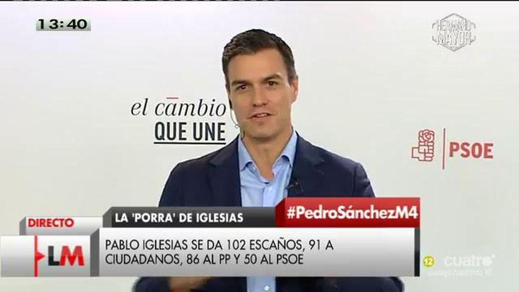 La entrevista de Pedro Sánchez, completa