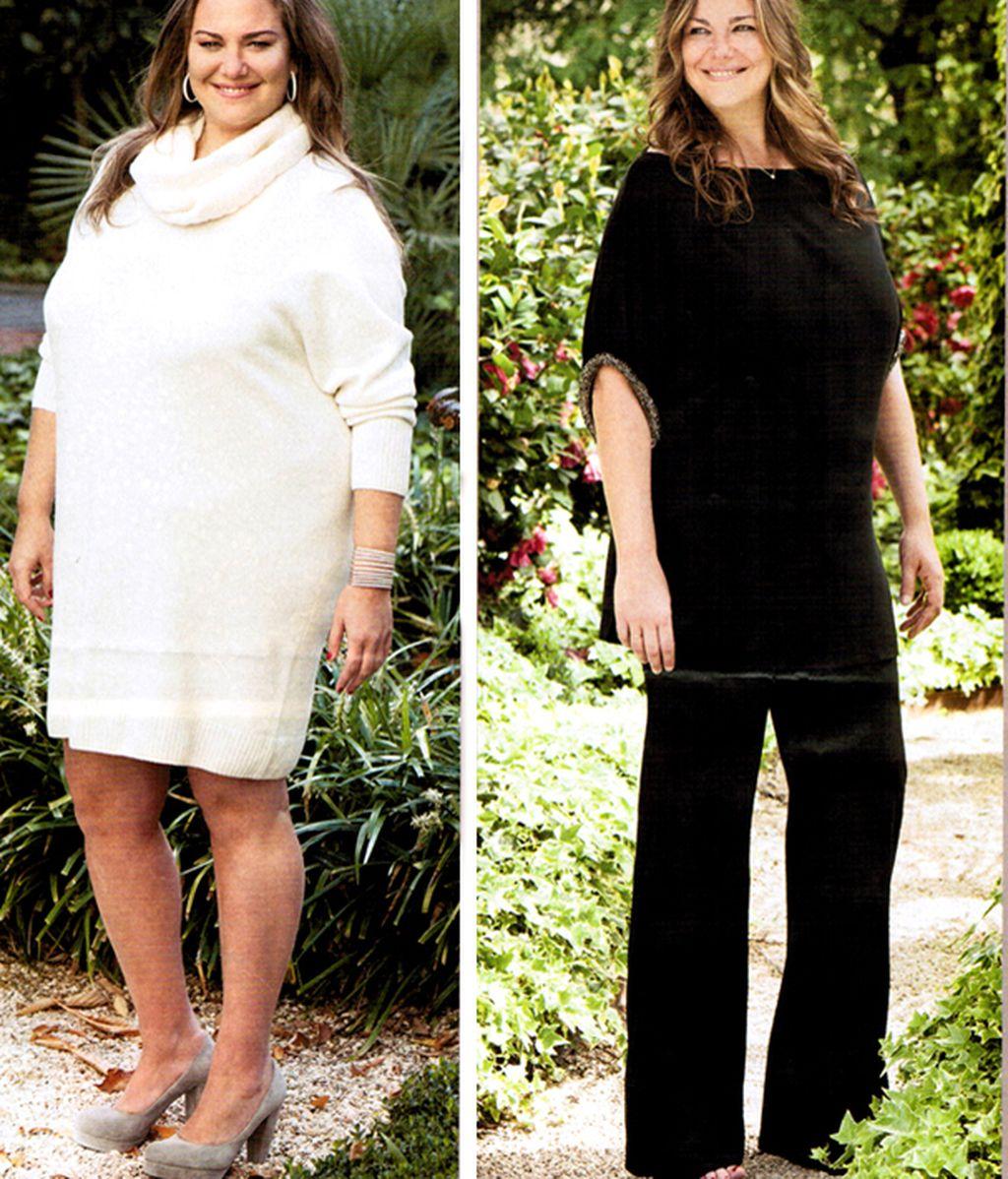 Gordas y delgadas