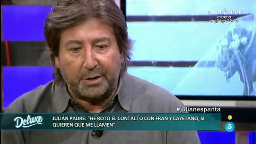 """Julián padre: """"Abandonamos el convite en silencio y con las lágrimas en los ojos"""""""