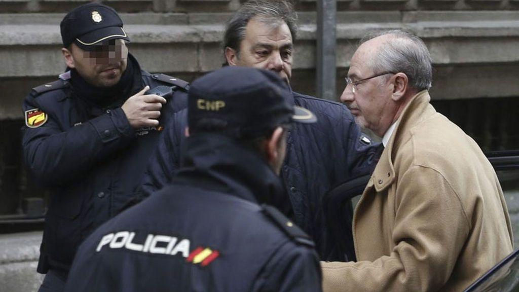 Rodrigo Rato declara por el caso Bankia