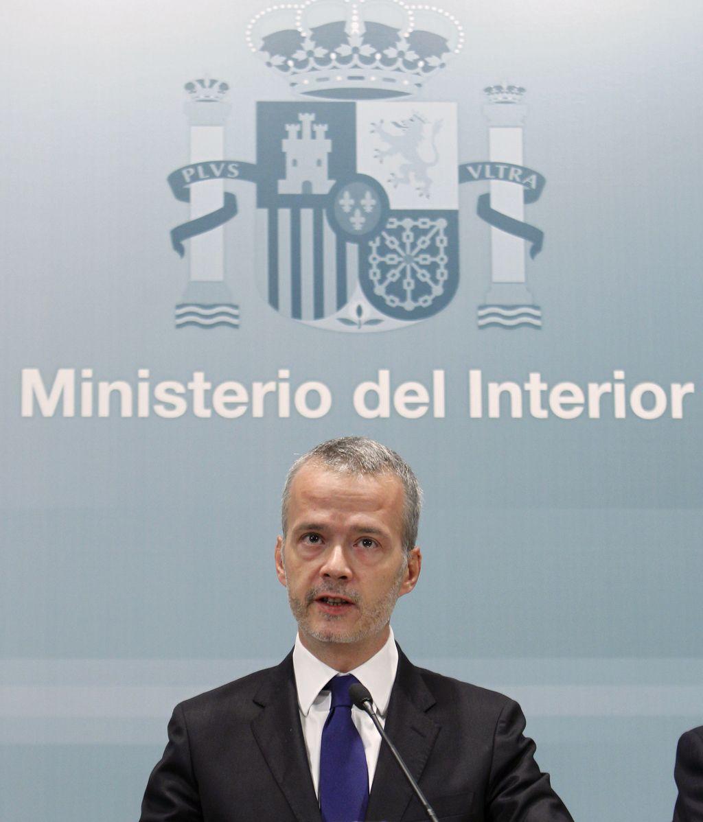 El ministro del Interior, Antonio Camacho, hace su primera valoración del comunicado de ETA.
