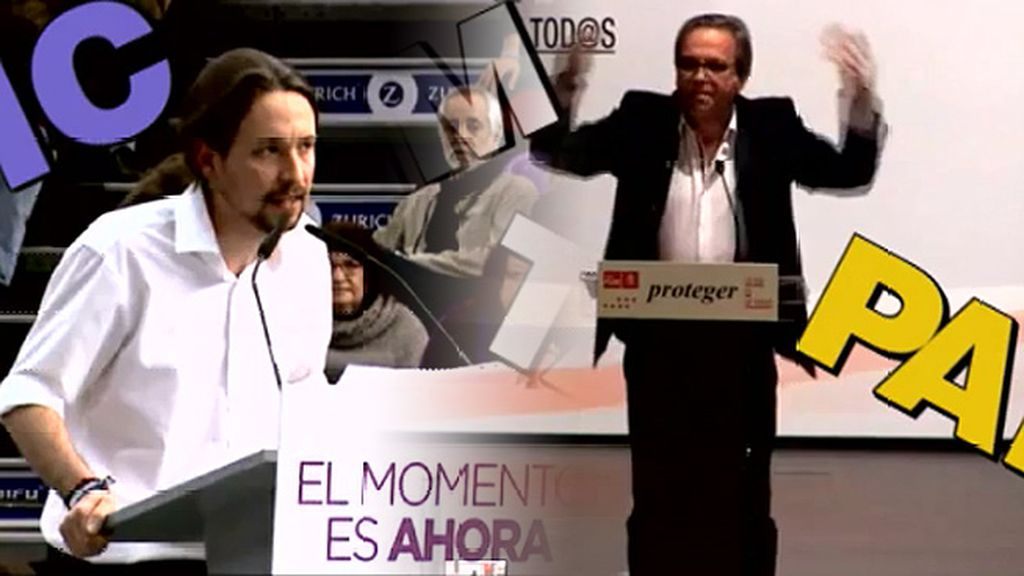 "El ""pim, pam"" del PSOE y el ""tic, tac"" de Podemos"
