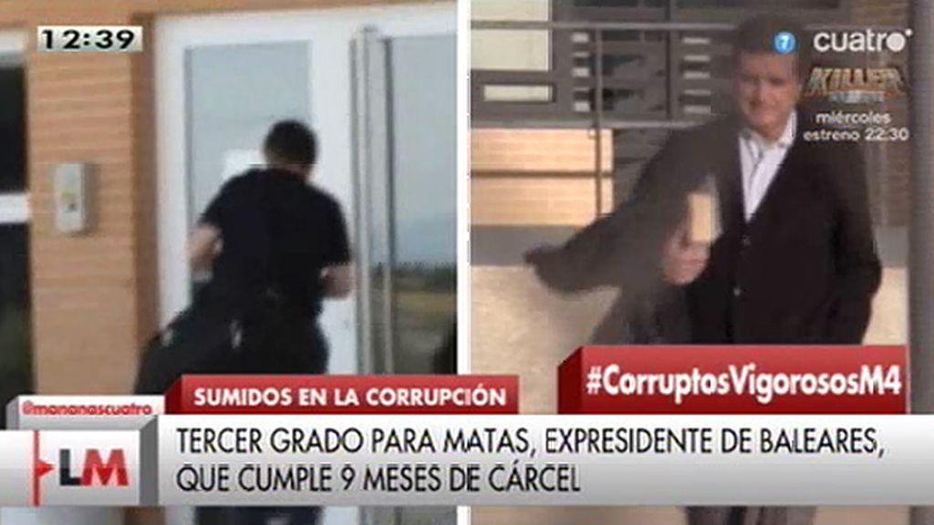 Jaume Matas abandona la cárcel de Segovia tras obtener el tercer grado