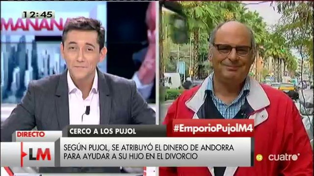 """Jaume Reixach, de los Pujol: """"Esta pila de más de un metro de documentos contables ha empezado a cantar"""""""