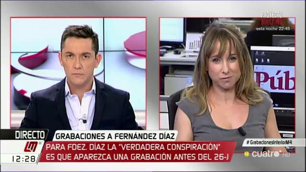 """Ana Pardo de Vera: """"Los argumentos del Ministro se caen por su propio peso"""""""