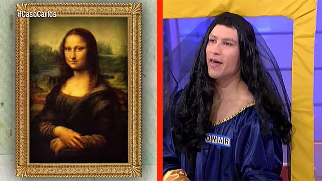 Omar, toda una Mona Lisa