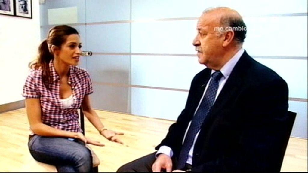 S. Carbonero entrevista a Del Bosque