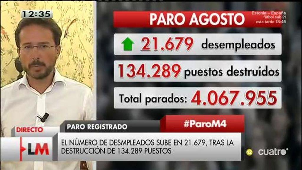 """Conde - Ruiz: """"Cada día se crean 40.000 contratos pero se destruyen 44.000"""""""