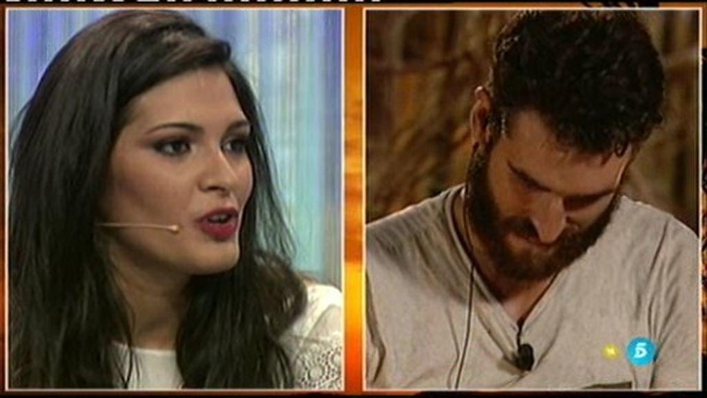 """Rubén intenta no emocionarse al escuchar a su novia: """"Os quiero a todos a reventar"""""""