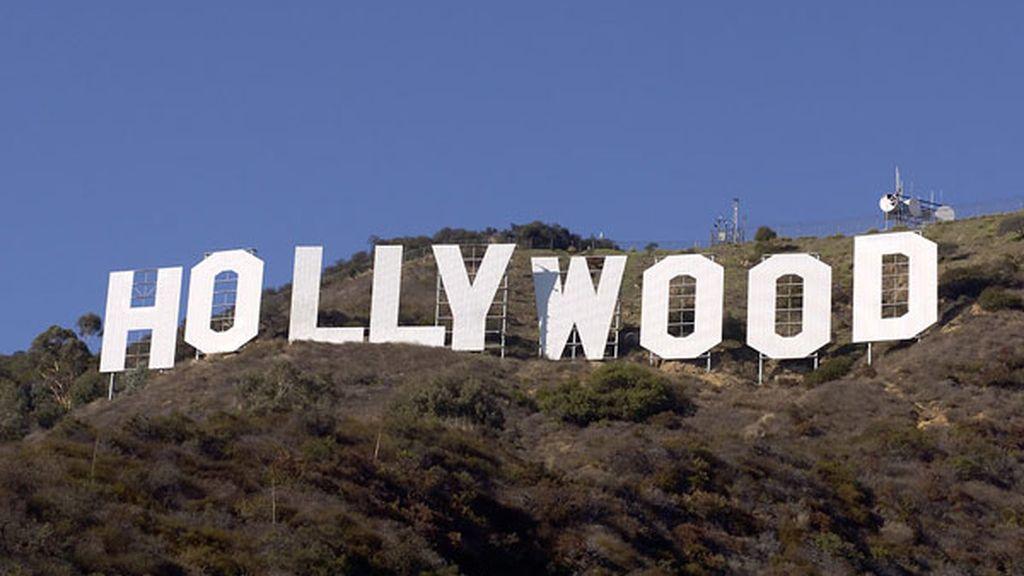 El mítico cartel de Hollywood