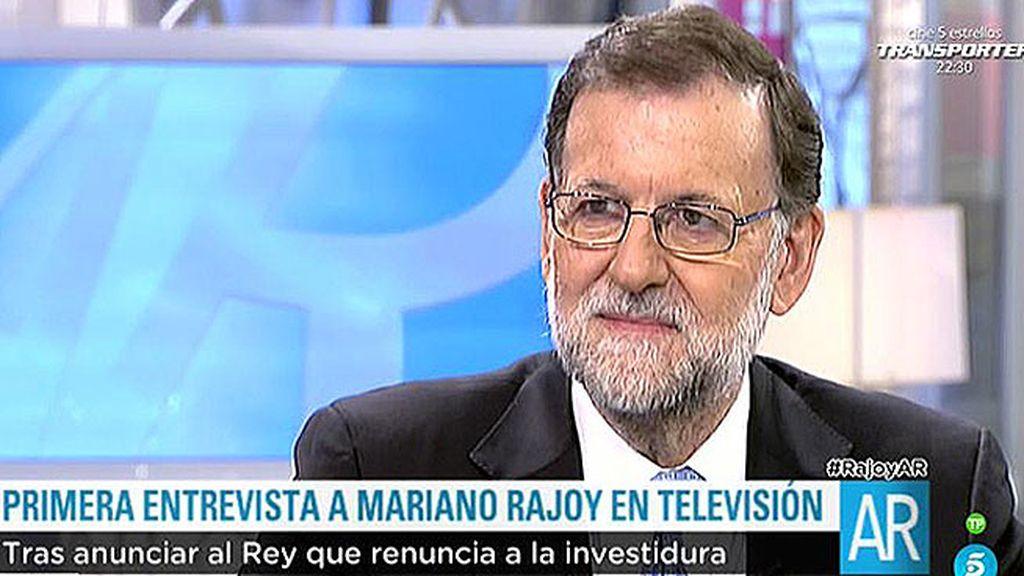 """Rajoy, sobre un tercer candidato: """"Eso no me gusta, la gente debe saber a quién vota"""""""