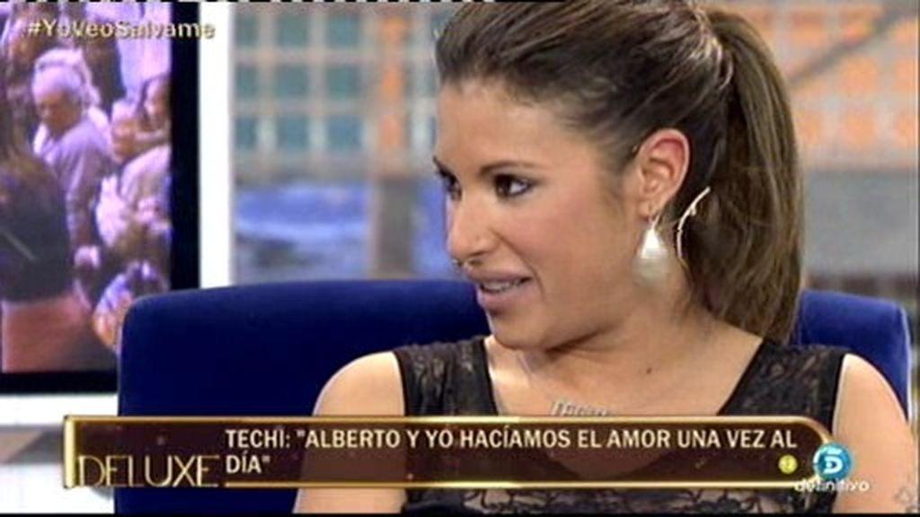 """Techi: """"No me sorprendería que Chabelita y Alberto Isla volvieran"""""""