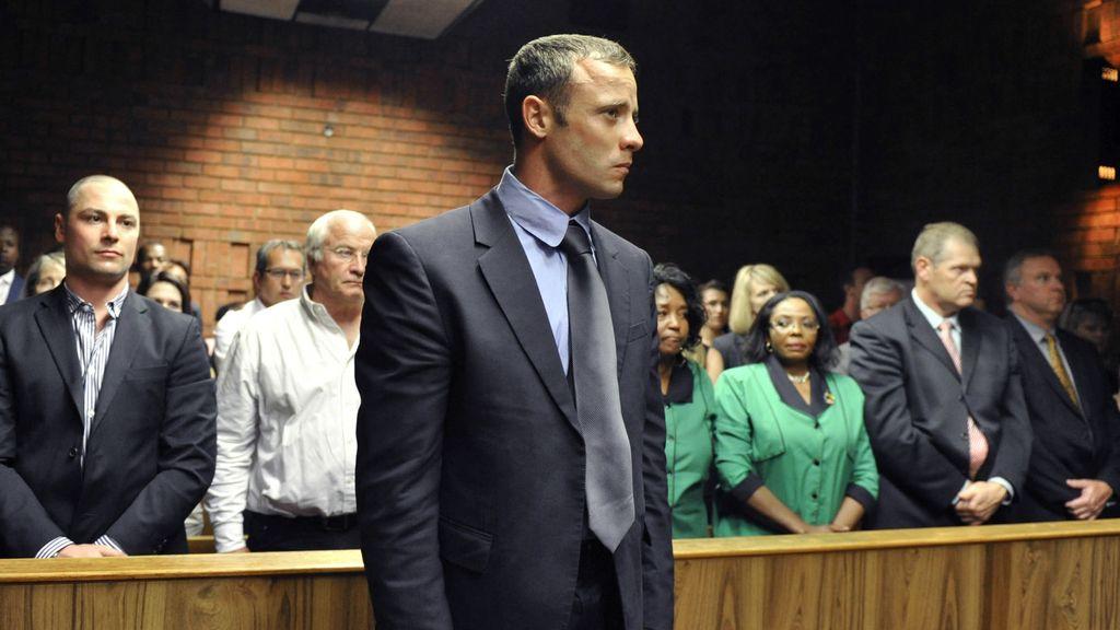 Pisotirus durante la reanudación del juicio por el asesinato de su novia