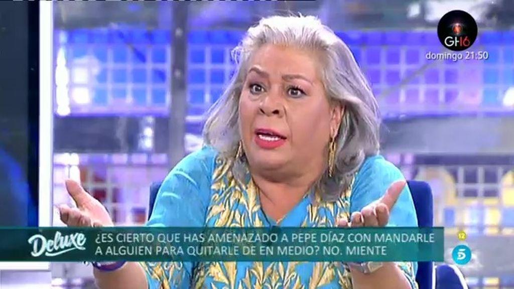El 'Polideluxe' descubre las amenazas que Carmen Gahona le ha hecho a Pepe Díaz