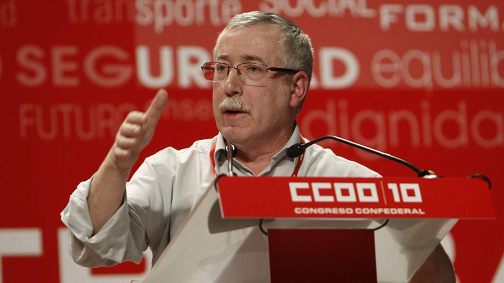 Toxo, reelegido secretario General de CCOO