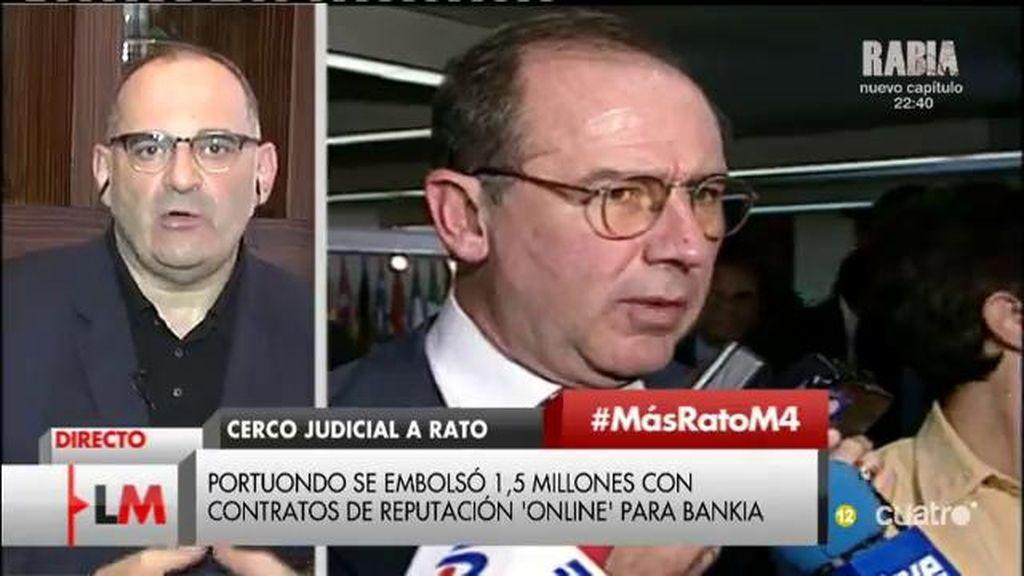 """Antón Losada: """"Rato se ha convertido en el símbolo del capitalismo de amiguetes"""""""