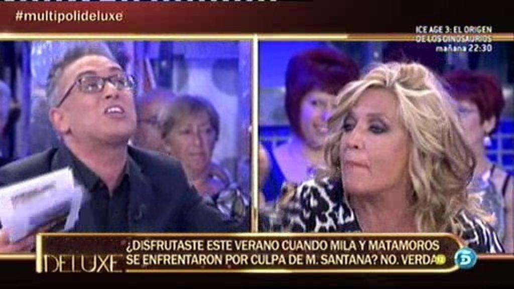 """Kiko Hernández, a Lydia Lozano: """"Yo te he visto disfrutar con el mal ajeno"""""""