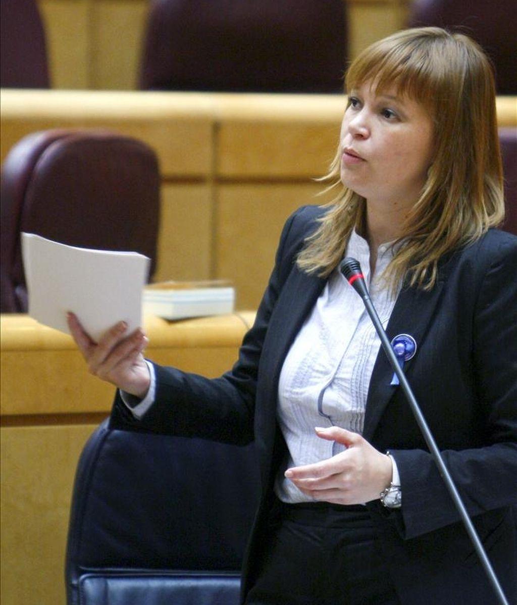La ministra de Sanidad, Leire Pajín. EFE/Archivo