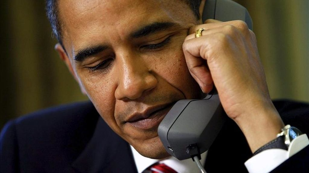 Obama llamó al primer ministro con motivo del inicio de la Pascua judía y aprovecharon para analizar otros temas de actualidad. EFE/Archivo