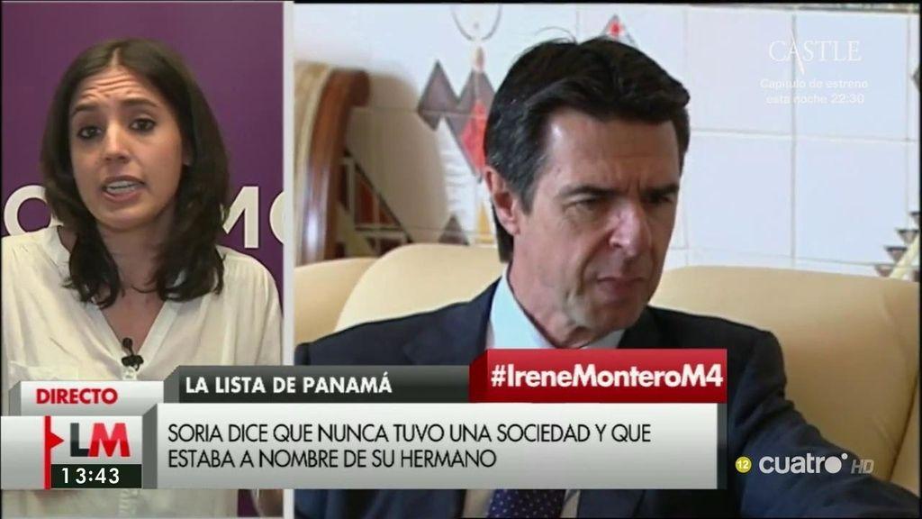 La entrevista de Irene Montero, a la carta
