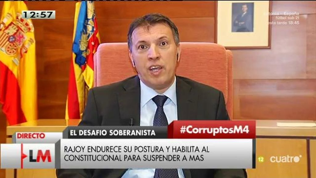 "Bosch: ""Se pretende poner un tricornio a los magistrados del Tribunal Constitucional"""