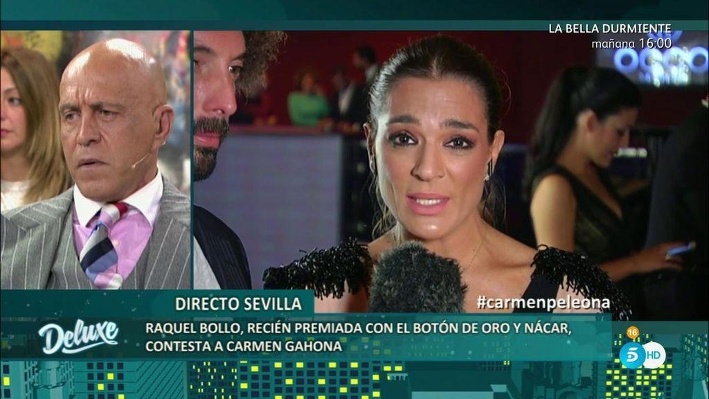 Raquel Bollo entra directo para contestar a Carmen Gahona… ¡Mira lo que ha dicho!