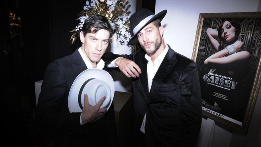 Adrián Lastra y Luis Fernández