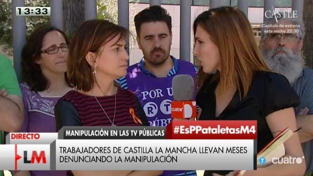 """Trabajadores de RTV Castilla-La Mancha: """"Las escaletas están manipuladas"""""""