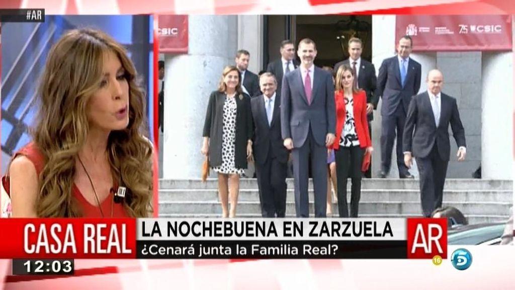 """""""Sofía ha insistido en que los duques de Palma pasen la Nochebuena en el Palacio"""""""