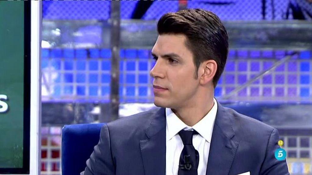 """Diego Matamoros: """"Mi padre puso el coche a mi nombre para que el embargo fuera mío"""""""