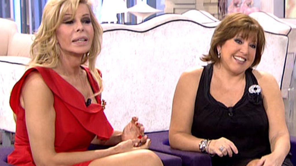 Bibiana y Loles León, amigas y compañeras en el teatro