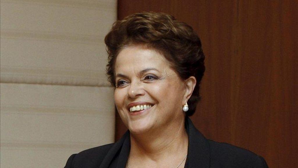 La presidenta de Brasil, Dilma Rousseff, durante la cumbre del Brics (Brasil, Rusia, India, China y Sudáfrica en China. EFE/Dmitry Astakhov/Ria Novosti