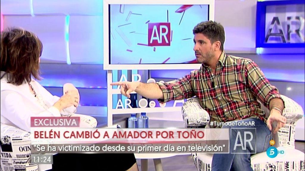 """Toño Sanchís: """"Belén ha utilizado su enfermedad para no ir a trabajar"""""""