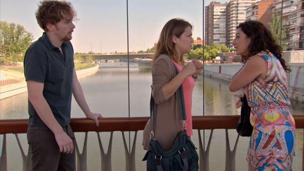 Lucía y Ramón tratan de evitar un suicidio