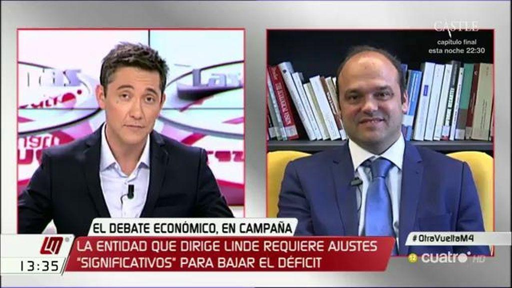 """José Carlos Díez: """"Lo que ha hecho la reforma del 2012 es un desastre"""""""