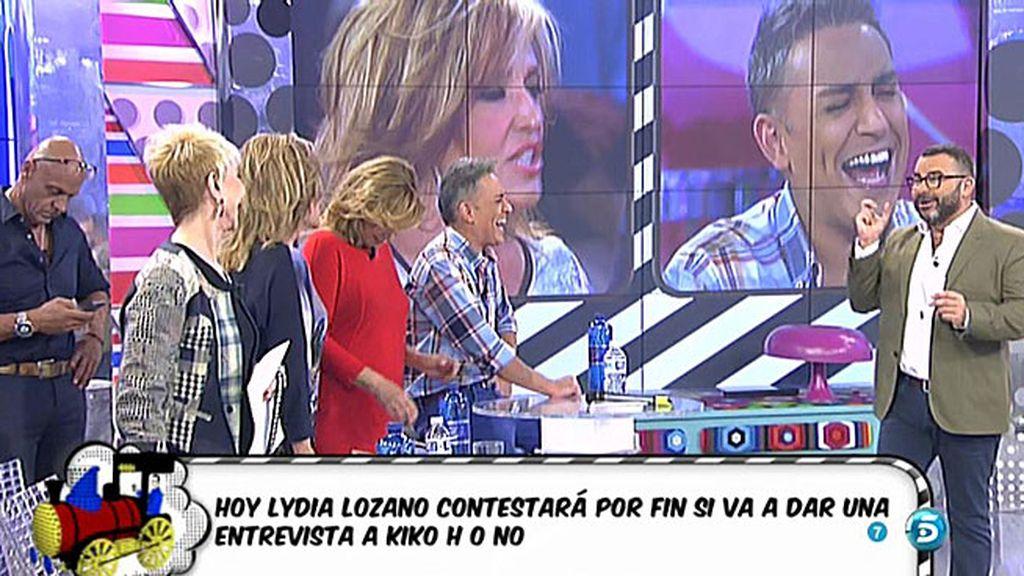 """Jorge Javier: """"Lydia, le he concedido una entrevista a Kiko H. para 'QMD"""""""