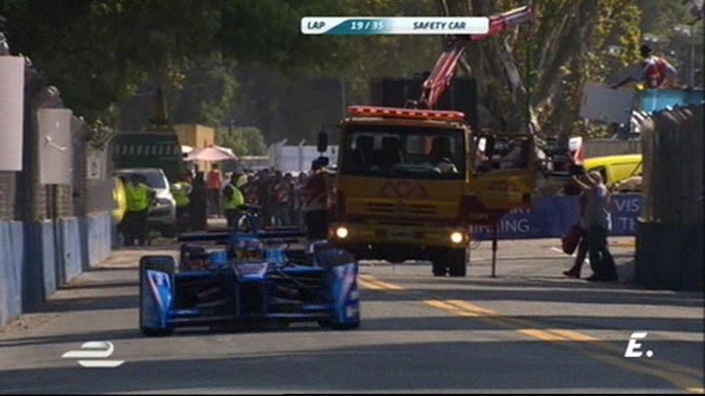 Karun Chandhok abandona en Buenos Aires y sale el primer safety car de la temporada