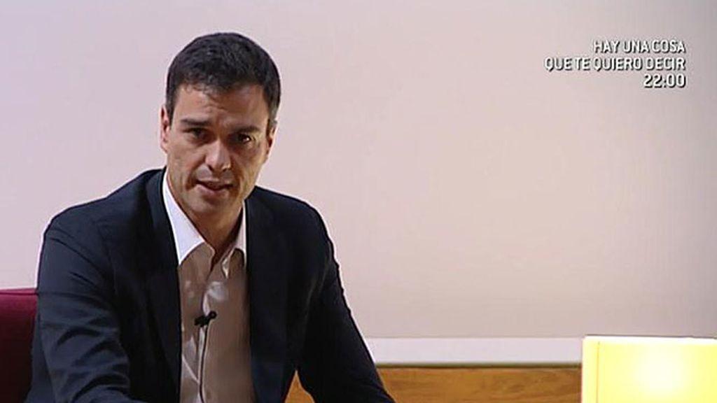 Sánchez quiere corregir la modificación del artículo 135 de la Constitución