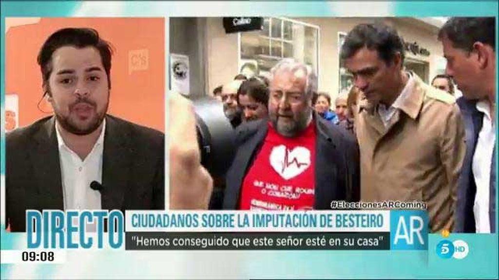 """Fernando de Páramo: """"Hemos conseguido que Besteiro esté en su casa"""""""