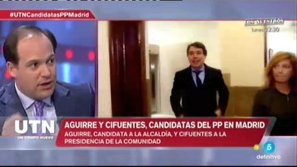 """Urreiztieta: """"Ignacio González se queda fuera porque es un riesgo inmenso para el PP"""""""