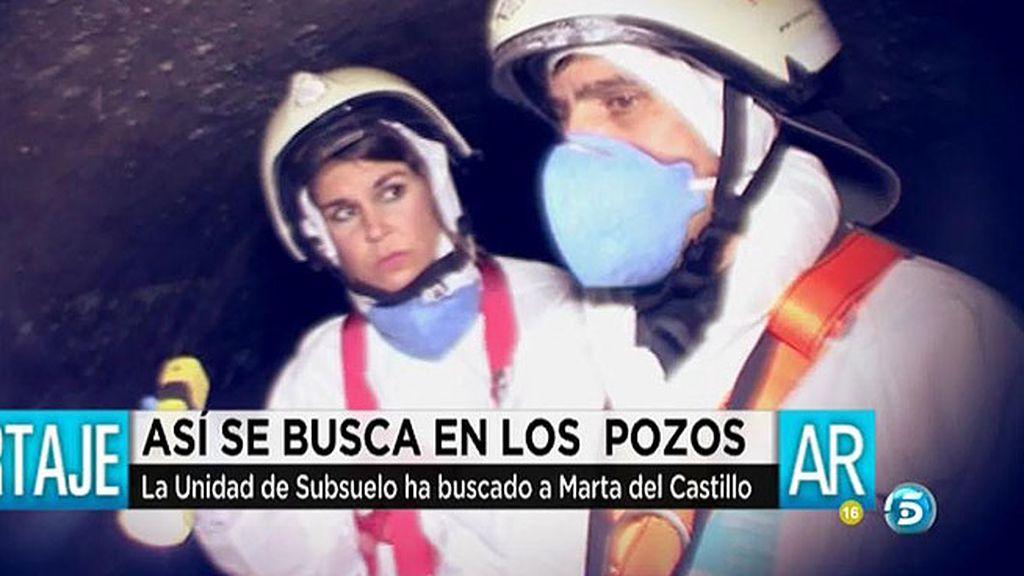 'AR' acompaña a la unidad de subsuelo en un día de trabajo en Sevilla
