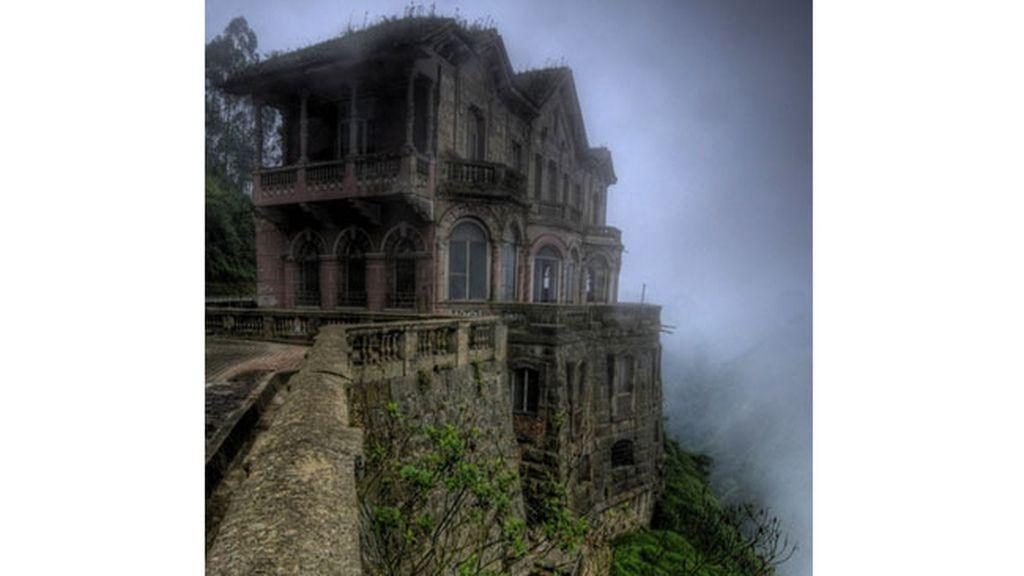El hotel abandonado en El Salto, Colombia